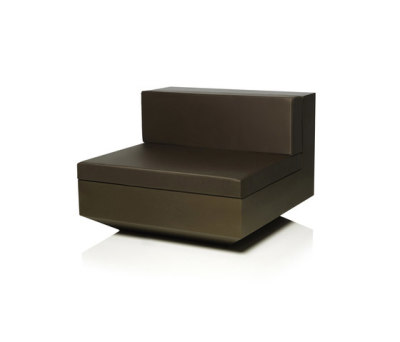 Vela sofa central unit by Vondom