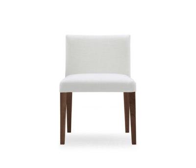 Velvet chair by Poliform