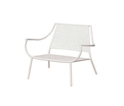 Vera lounge chair - set of 2 Glossy White