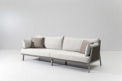 Vieques 3 seater sofa by KETTAL