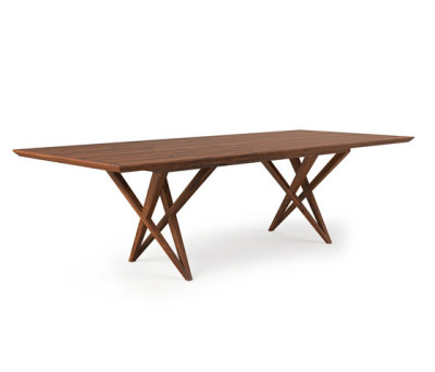 VIVIAN TABLE WALNUT by Belfakto
