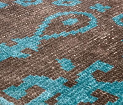 Vivid Vol. I coffee brown peacock blue by Miinu
