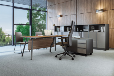 Vu Executive office desk by Ergolain