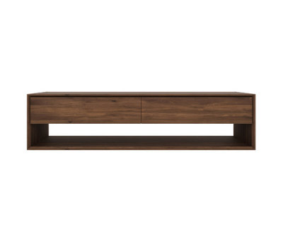 Walnut Nordic TV cupboard by Ethnicraft