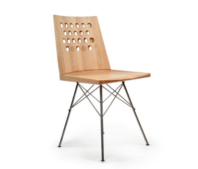 Wave Dining Chair by Zanat