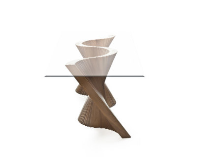 Wave Dining Table by Kenneth Cobonpue