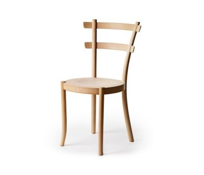 Wood chair by Gärsnäs