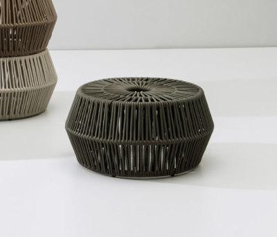 Zigzag pouf by KETTAL