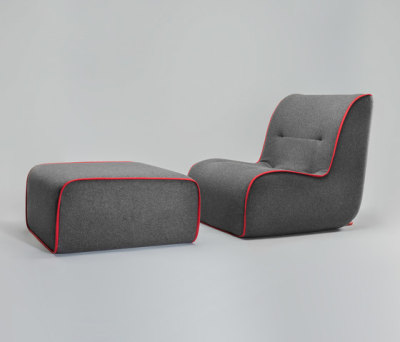 Zulu Armchair and Ottoman by Comforty