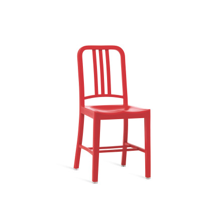 111 Navy Dining Chair - Set of 2 Red