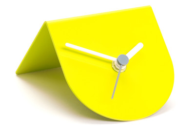 1/2 Desk Clock Lemon