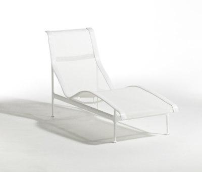 1966 Contour Chaise lounge White