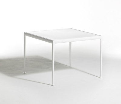 1966 Square Dining Table White 72H x 96.5W x 96.5D cm