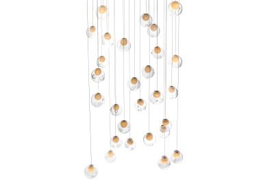 28.28 Rectangular Chandelier LED