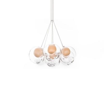 28.7 Cluster of 7 Pendants LED