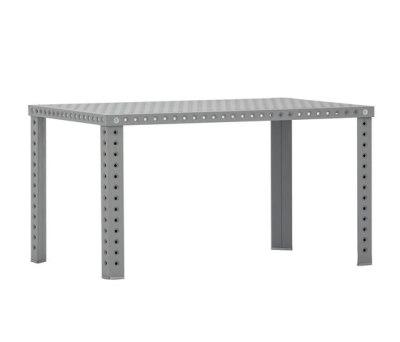 3+ Table - Rectangular Raw Material, 75 x 180 x 80 cm