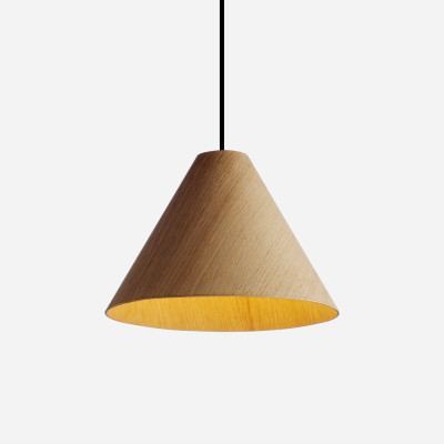 30degree Lamp Shade Green Shade, White Cordset, Extra Large