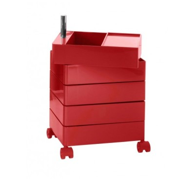 360° Drawer - 5 Drawers Red