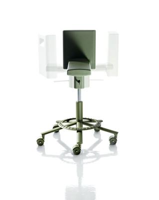 360° Swivel Chair Olive Green