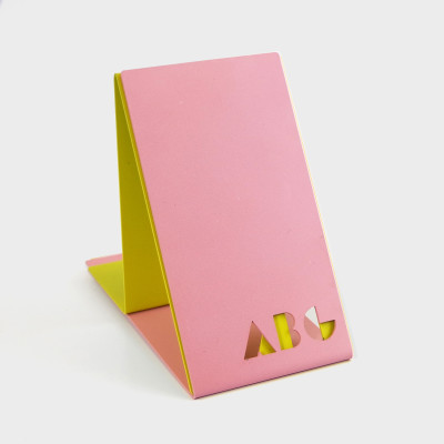 ABC Bookends Pink