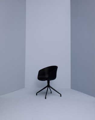 About A Chair AAC20 Hunter Shell, Polished Aluminium Base