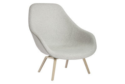 About A Lounge Chair AAL93, Soap Treated Oak Legs Hallingdal 65 100