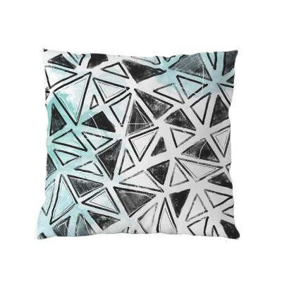 Modern Geometric cushion with insert