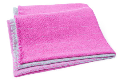 AC13 Cuadro Blanket Pink