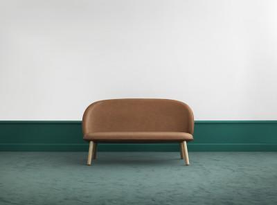 Ace Sofa Black Tango Leather