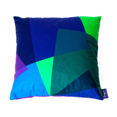After Matisse Cushion Green & Blue