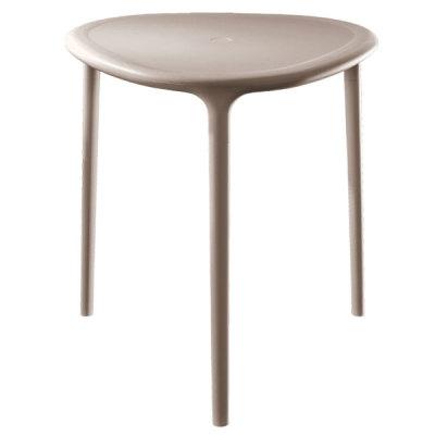 Air Table - Triangular Matt White