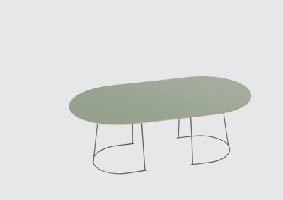 Airy Large Coffee Table Dusty Green