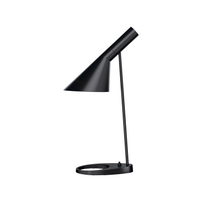 AJ Table Lamp UK Plug, Black