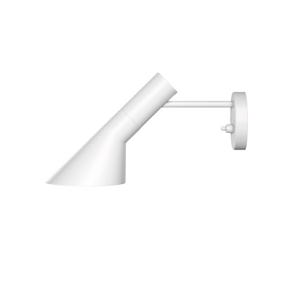 AJ Wall Light UK-Plug, White