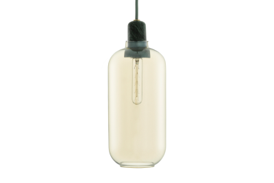Amp Pendant Light White, Large