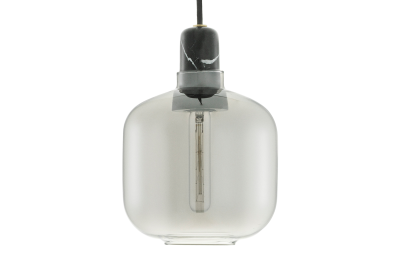 Amp Pendant Light Smoke, Small