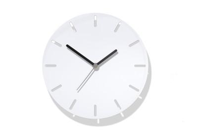 Aperture Clock White