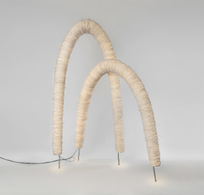 Arc Floor Lamp White