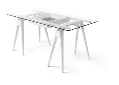 Arco Desk Glass Worktop