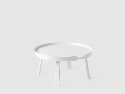 Around Large Coffee Table White