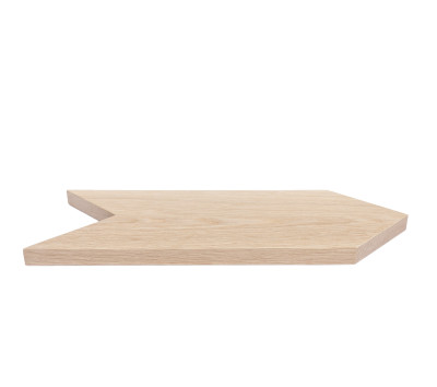 Arrow Tray/Cutting Board Natural