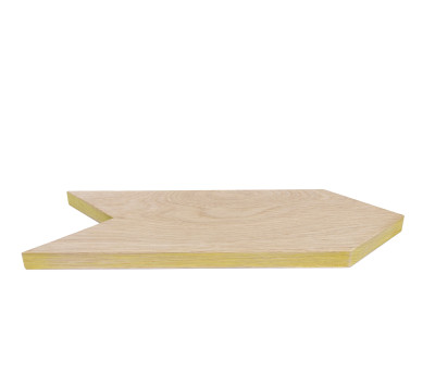 Arrow Tray/Cutting Board Yellow