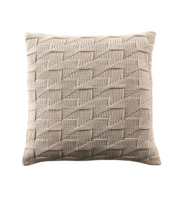 Arrows Cushion Beige