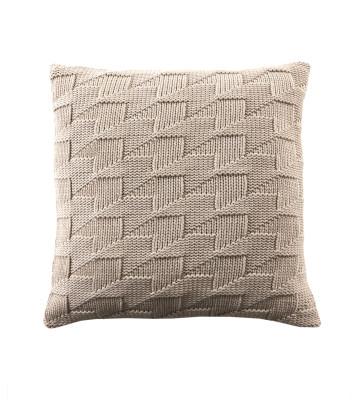 Arrows Cushion Beige