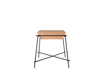 Basil Trapèze Side Table Black