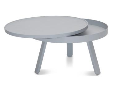 Batea M - Coffee table with storage Grey