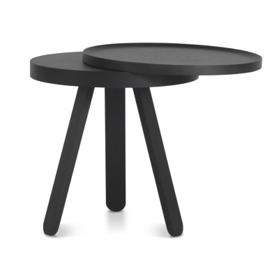 Batea S - Tray table Black