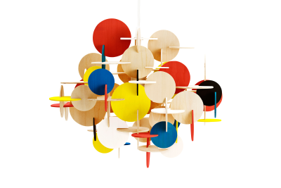 Bau Pendant Lamp Multi, Large