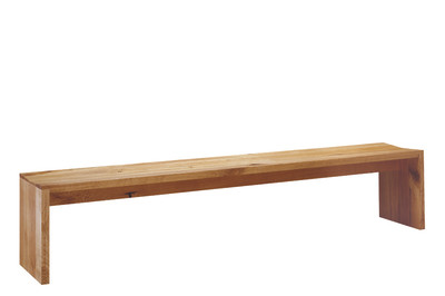 BE01 Calle Bench Walnut, 300 cm