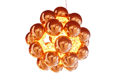 Beads Penta Pendant Light Copper
